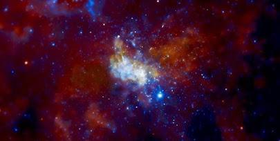 اجرام اسرارآمیز نزدیک ابرسیاهچاله مرکز کهکشان