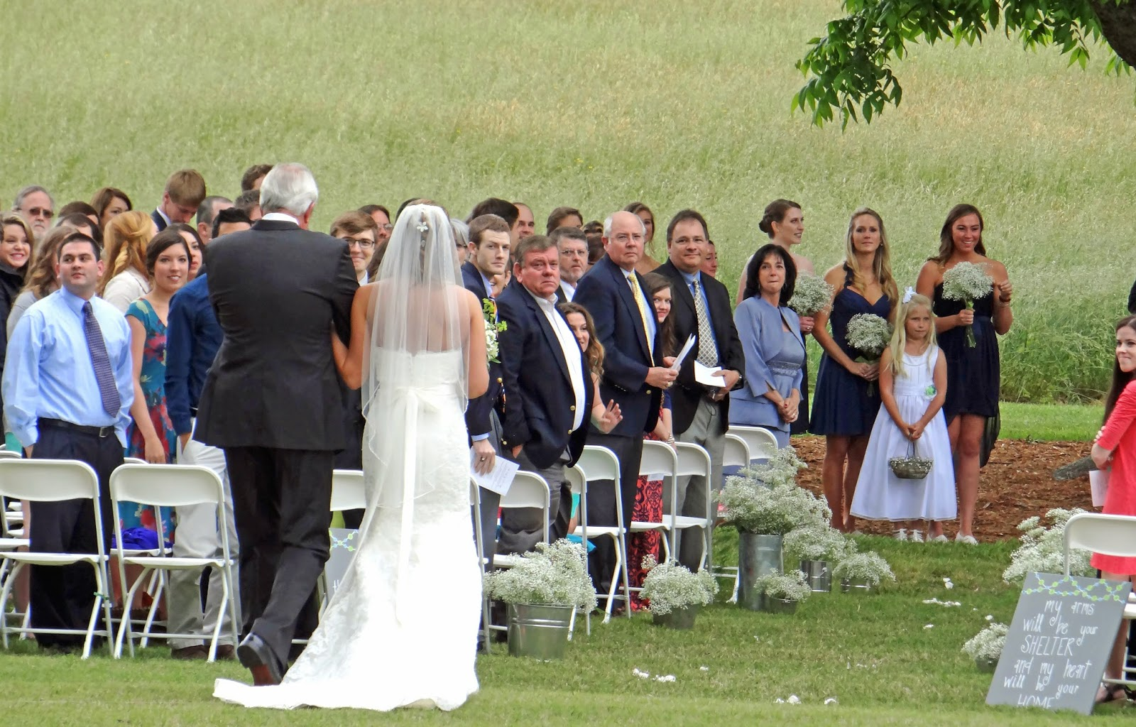 Christine leach wedding