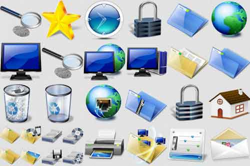 Más de 150 íconos PNG para tus páginas o blogs en Internet