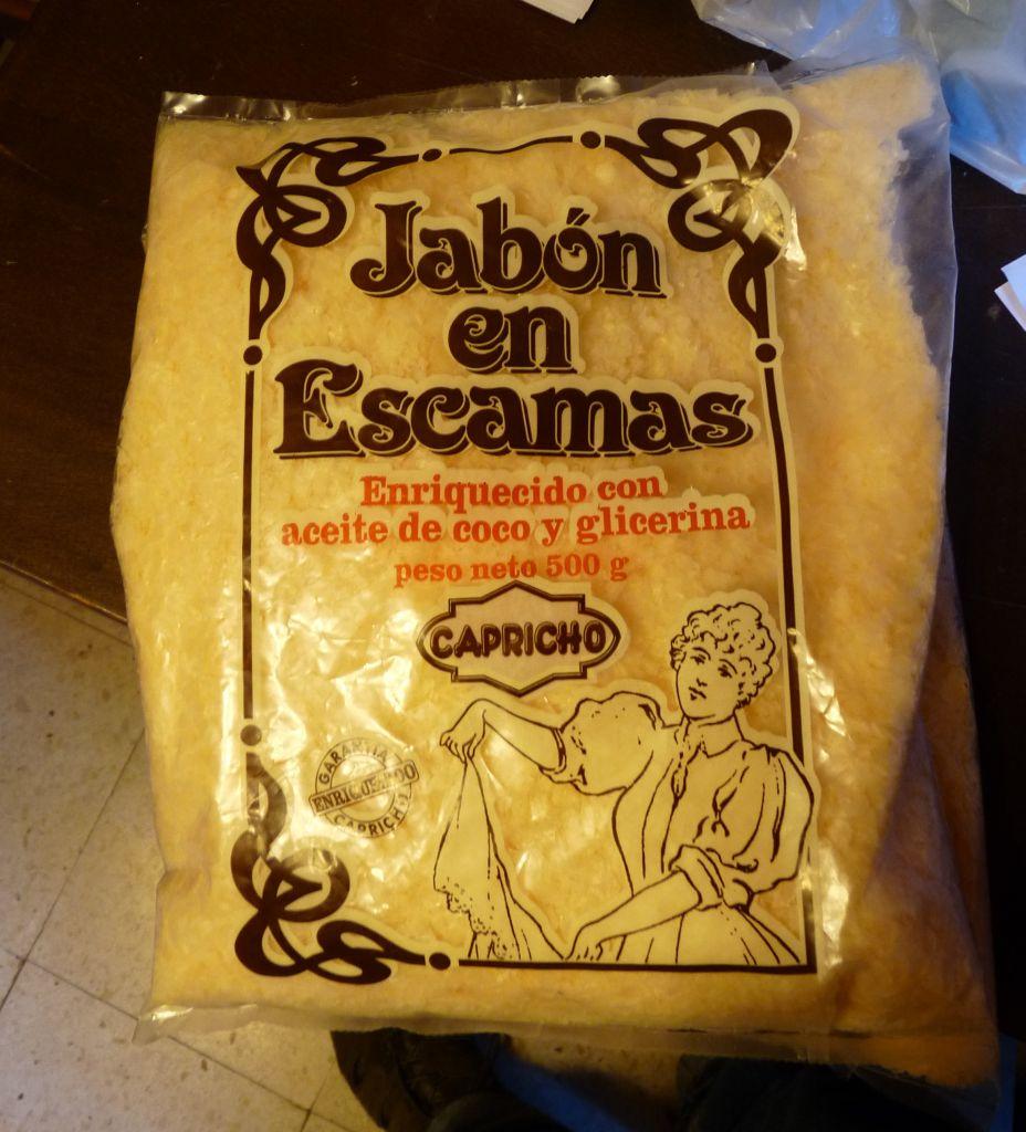 Andar andar jab n l quido de lavadora y de tocador - Jabon natural para lavadora ...