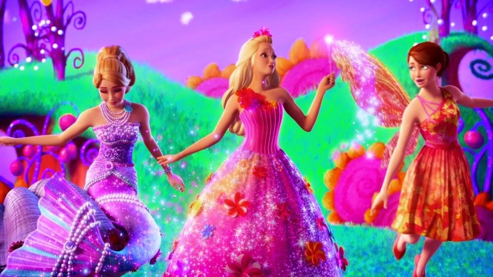 Regarder barbie et la porte secr te 2014 films de barbie - Barbie et la porte secrete film complet ...