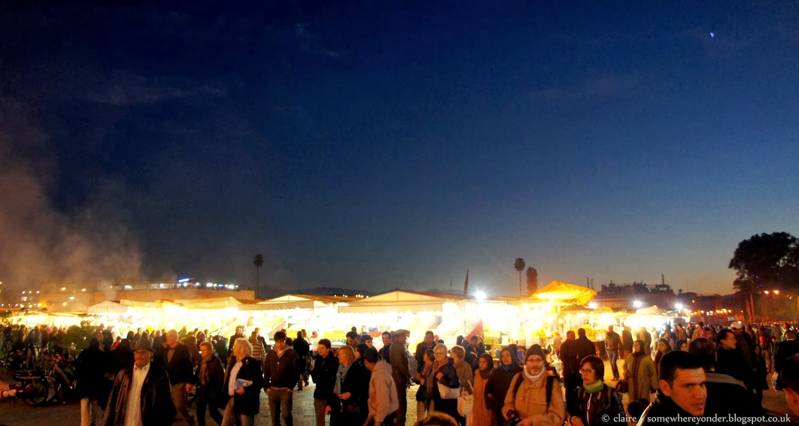 Djemaa El-Fna night market - Marrakech
