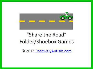 Share Road Foldershoebox Games For Turn on Parent Training Materials Autism