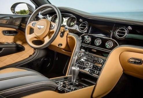 2016 Bentley Mulsanne interior