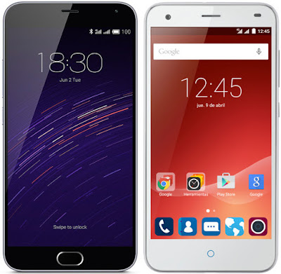 Meizu M2 Note vs ZTE Blade S6 Plus