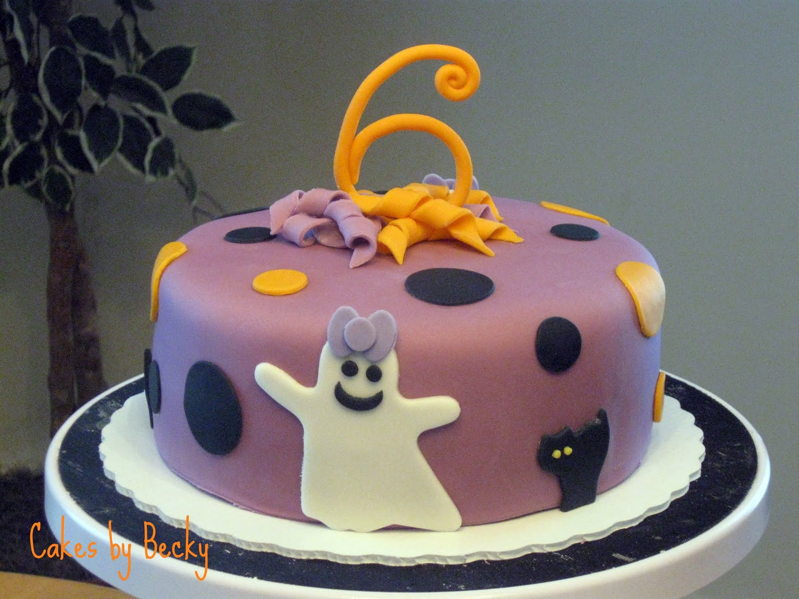 Cakes by Becky Not So Scary Halloween Birthday Cake