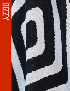 Happy Habitat Black Diamond Throw Blanket- Dizzy