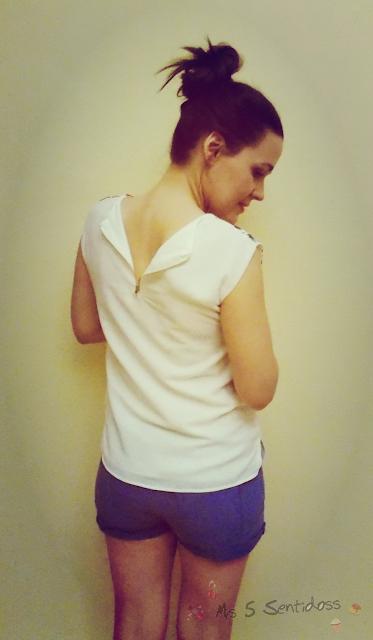 Rosegal: Camiseta floral y Pañuelo de erizos