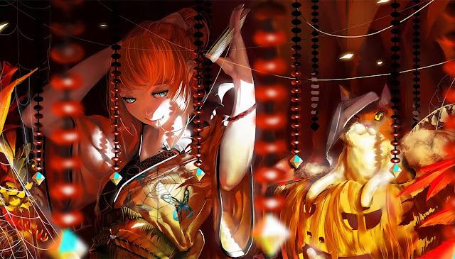 anime girl,anime kimono,original anime
