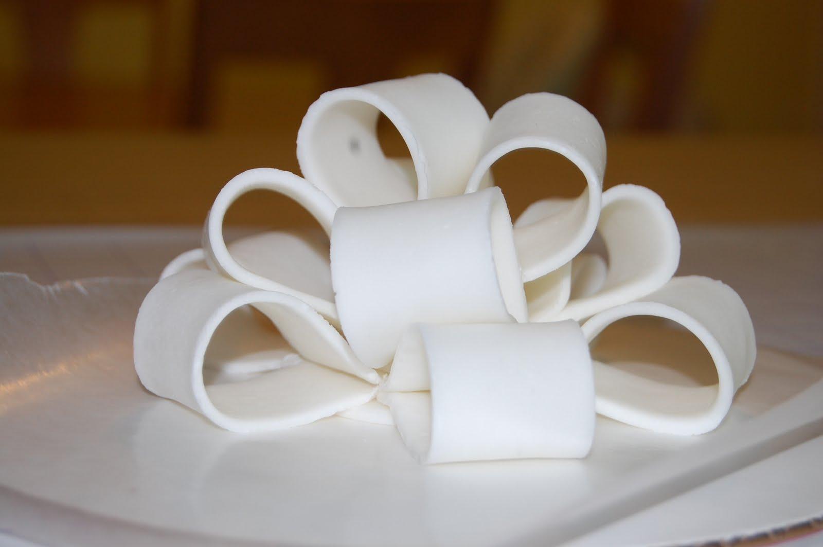 Белая мастика своими руками 75