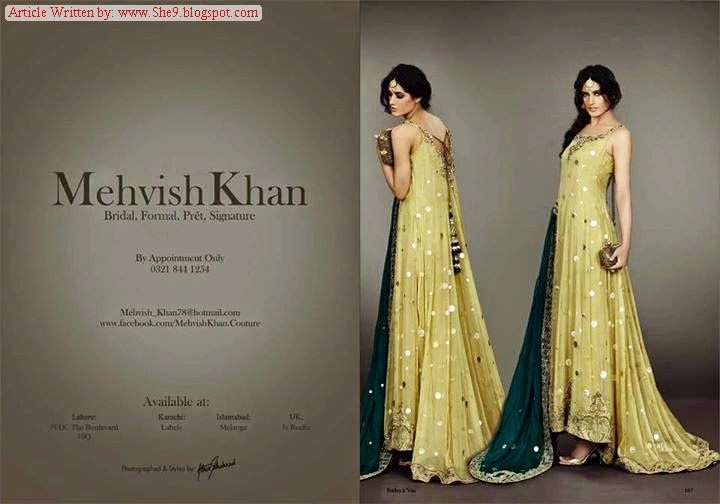 Mehvish Khan Fancy Formal Suits
