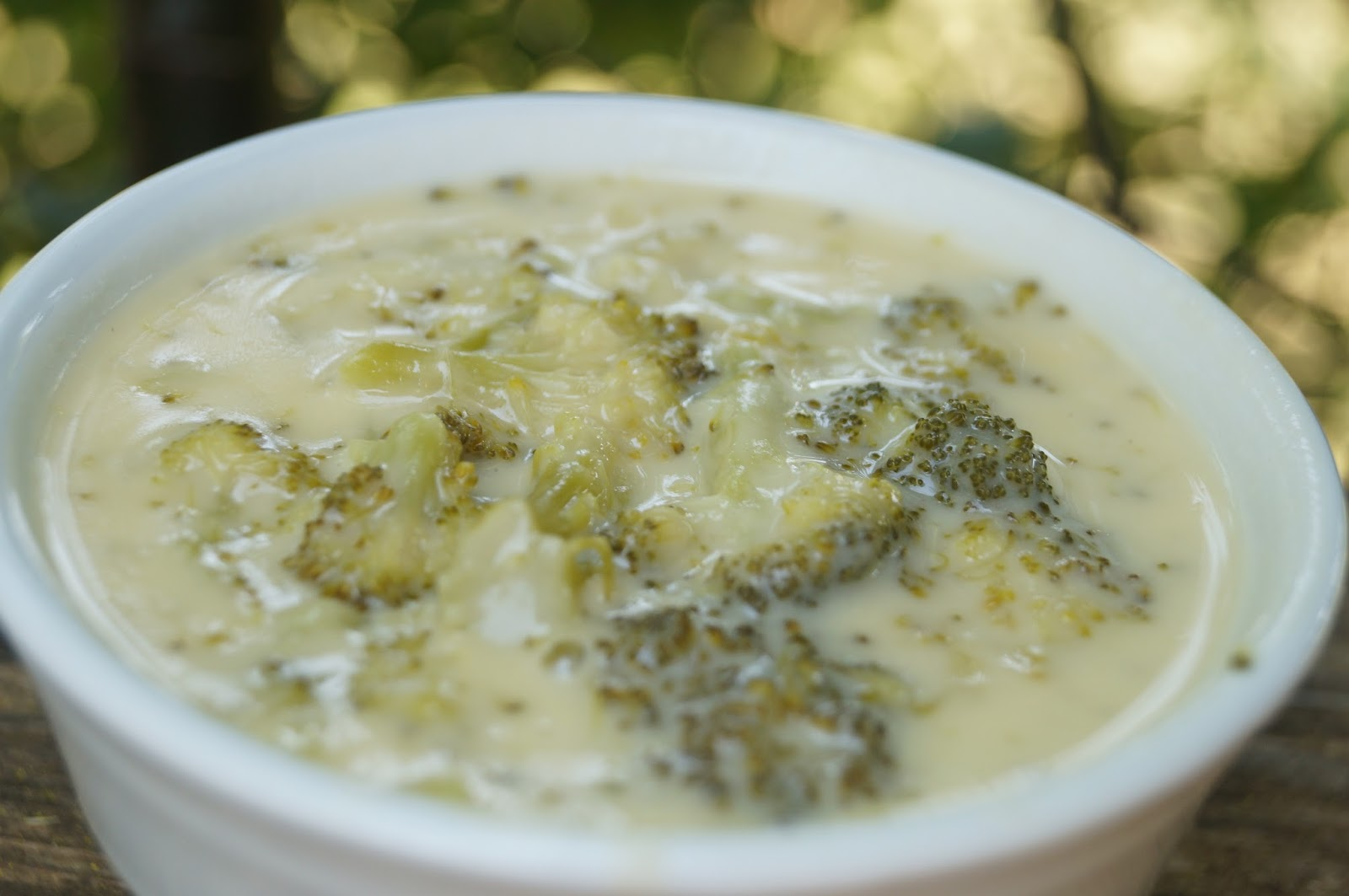 In the Kitchen with Jenny: Broccoli Cheese Soup