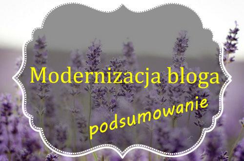 Modernizacja bloga.