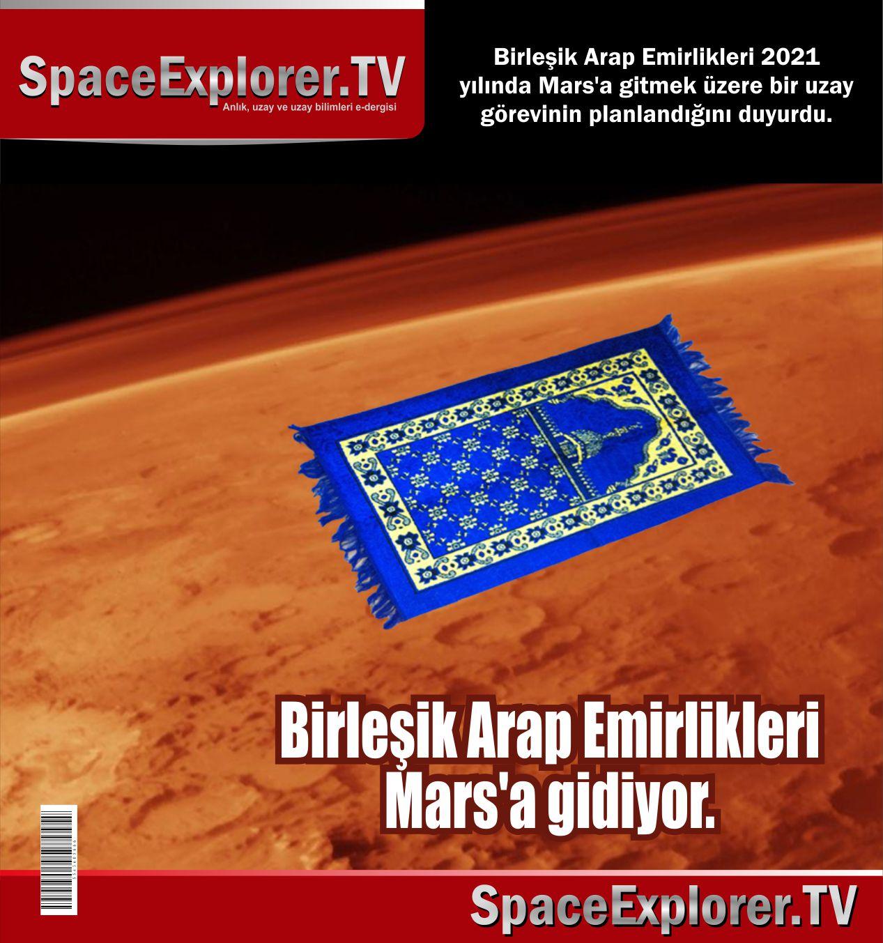 Birleşik Arap Emirlikleri, Mars, Mars One, Mars'ta yaşam var mı, Uzayda hayat var mı?, Evrende yalnız mıyız?, Mars'lılar müslüman mı, Müslüman bilim adamları, Müslüman uzaylılar,