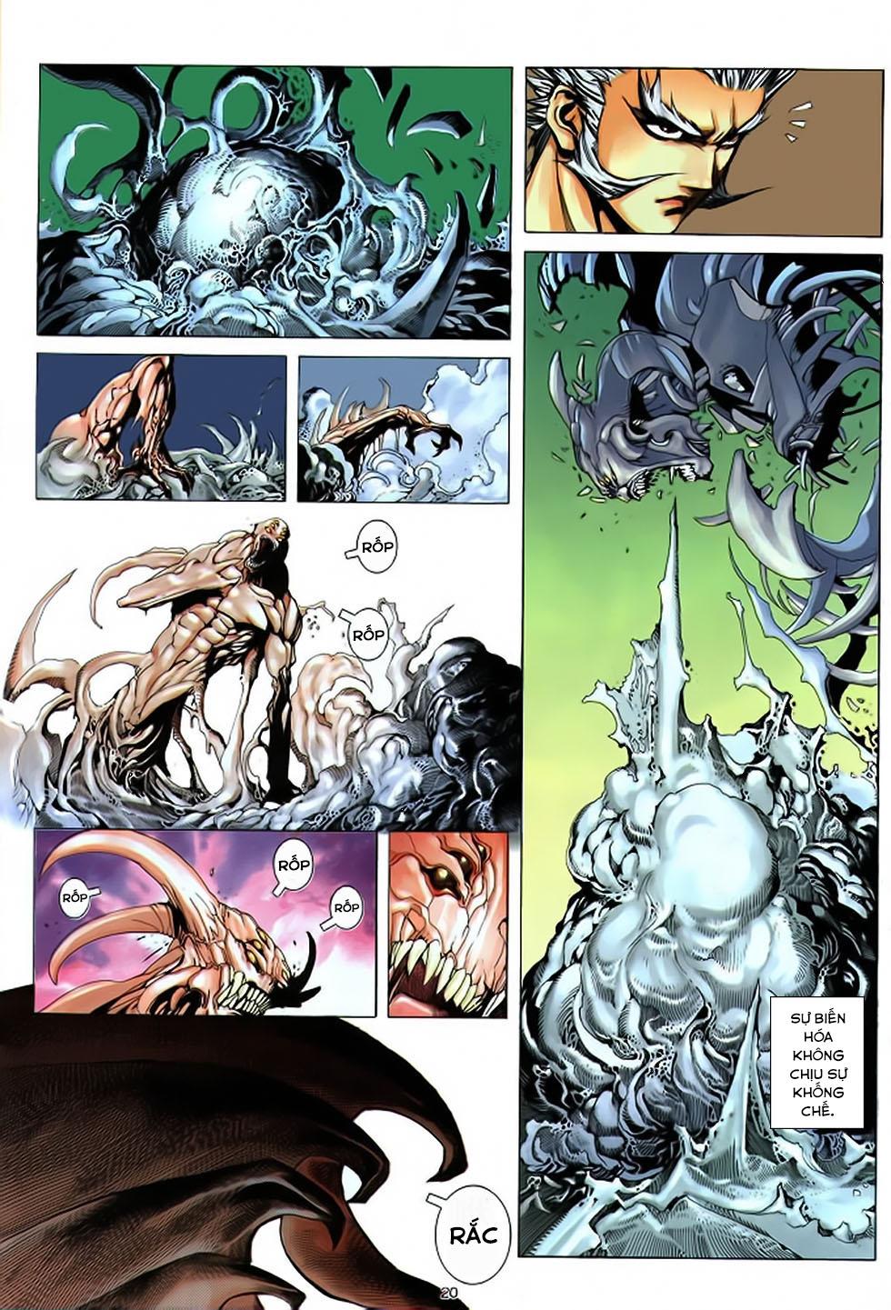 Chiến Thần Ký chap 39 - Trang 21