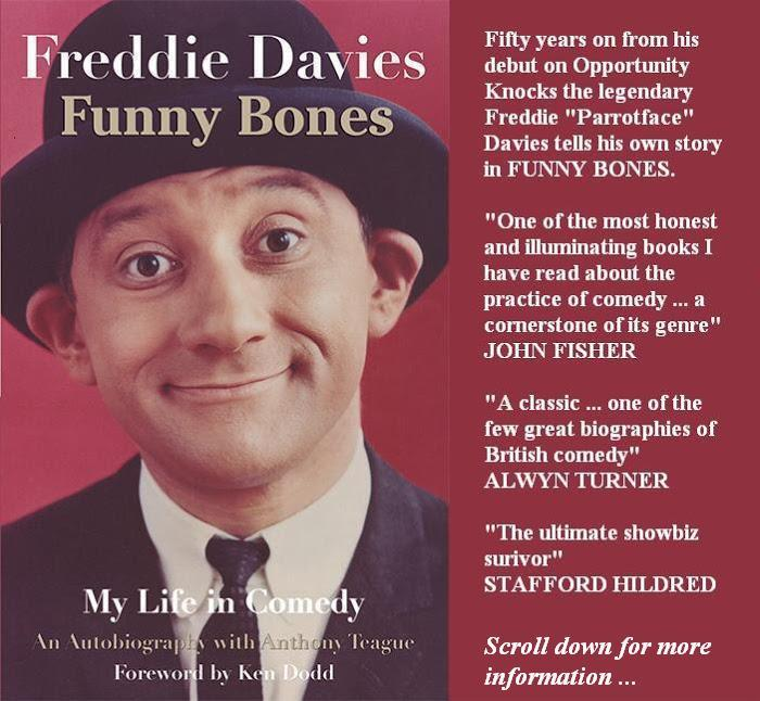 Funny Bones: My Life in Comedy by Freddie Davies with Anthony Teague