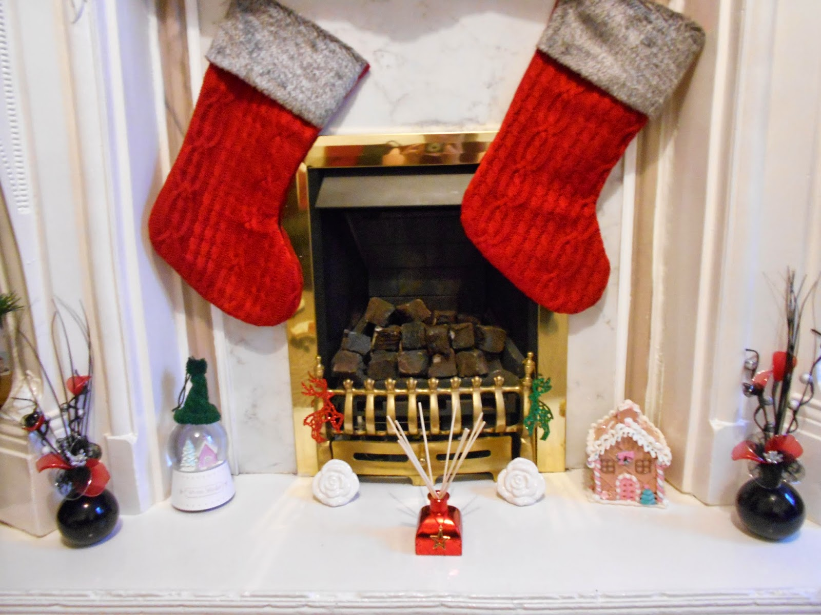 Christmas Fireplace 2014