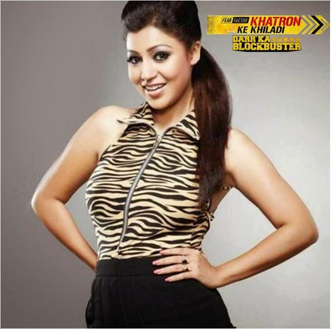 Debina Bonnerjee in Fear Factor Khatron Ke Khiladi