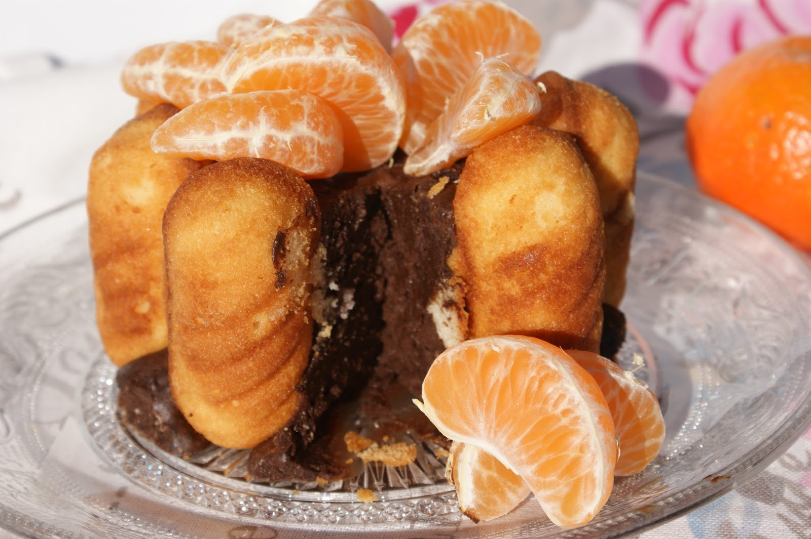 charlotte inratable aux clementines