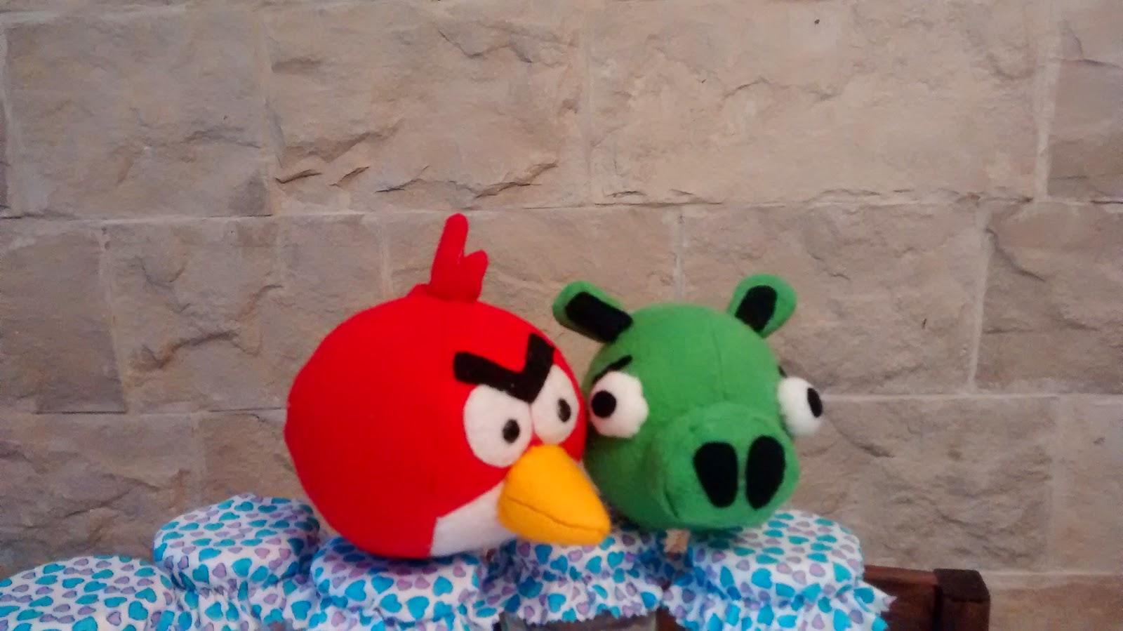 angry bird cerdo fieltro