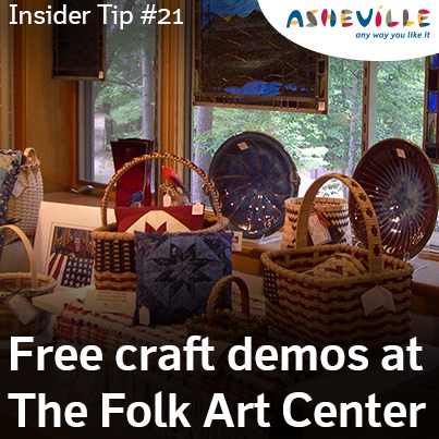 Asheville Insider Tip: The Folk Art Center Offers Amazing Hand-Crafted Art.