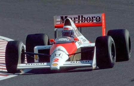 Formula 1 1989 Alain Prost/ Mclaren