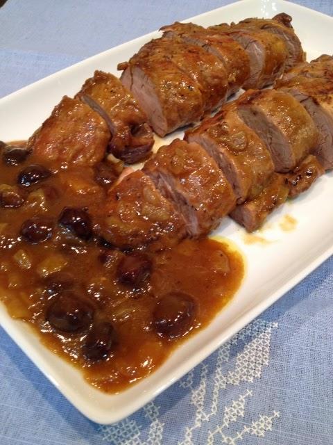 La cocina de mami solomillo iberico al pedro ximenez for Como preparar solomillo