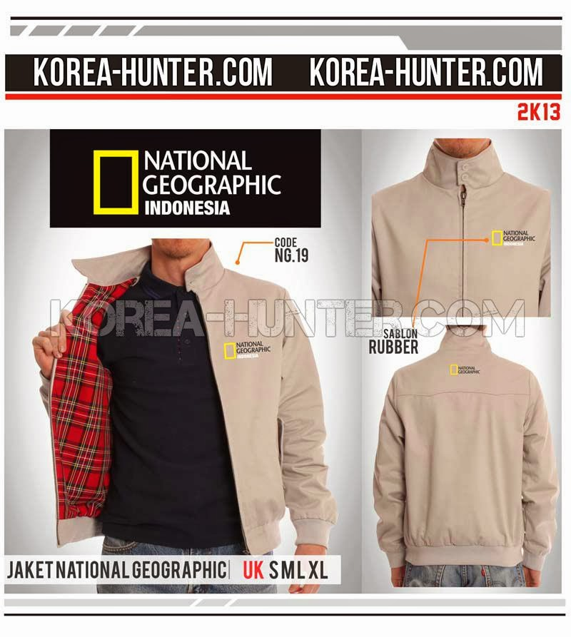 KOREA-HUNTER.com jual murah Jaket National Geographic - Indonesia | kaos crows zero tfoa | kemeja national geographic | tas denim korean style blazer
