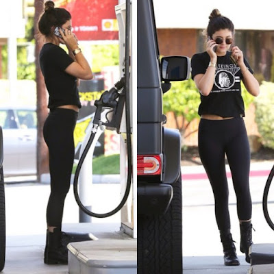 Kylie Jenner in Yoga Pants