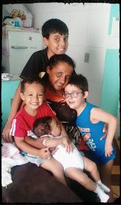 Minha Vovó e primos