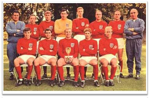 Football Legends 1966 FIFA World Cup England Team Squad