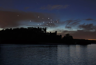 A rendering of the Constellation, the project of artist Melissa McGill. Melissa talks with A Little Beacon Blog about the project.