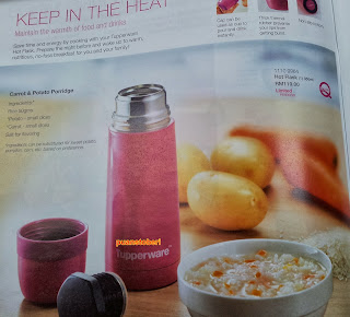 flask, tupperware, katalog oktober 2013