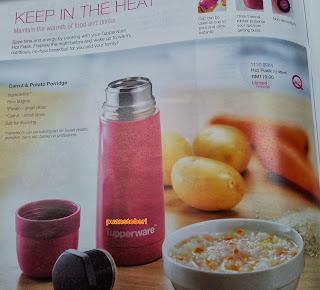 flask, tupperware, katalog oktober 2013