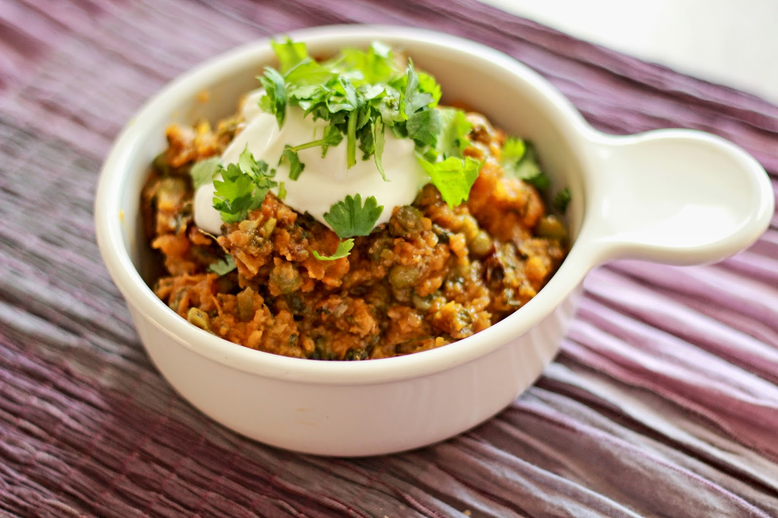 Ground Chicken (or Turkey) And Chickpea Curry Stew With Yogurt And ...