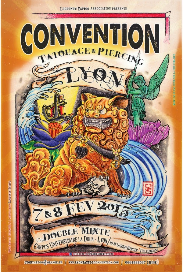 Lyon 2016 Gones Tattoo Ink Lyon Tattoo Convention - convention de tatouage lyon