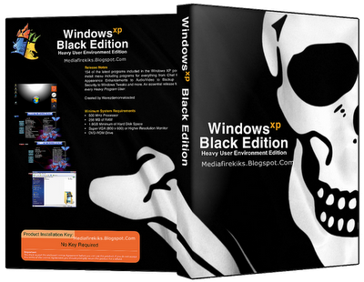 windows xp professional sp3 x86 - black edition 2016