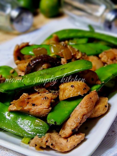 resep ayam jamur bakso lada hitam