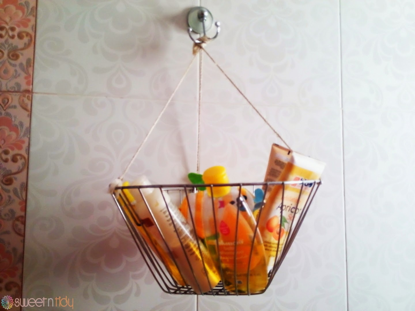 How to organize bathroom free shower organizer