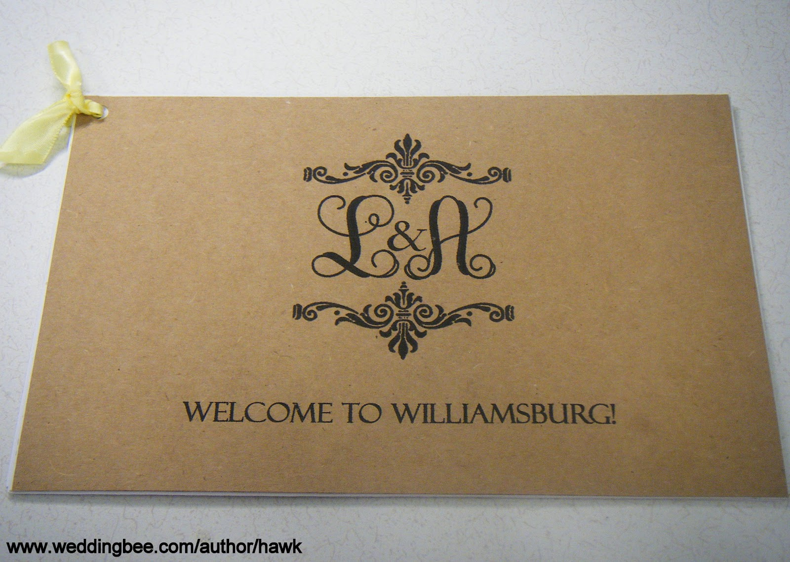 welcome packets for wedding guests