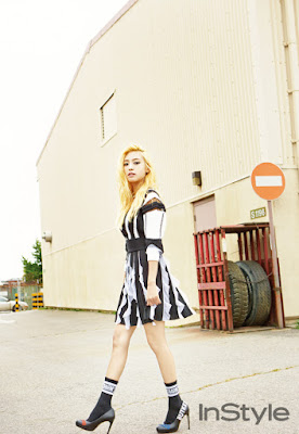Bora SISTAR - InStyle Magazine July Issue 2015