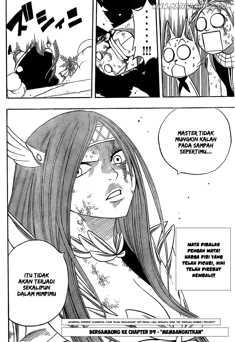 Komik Fairy Tail Chapter 58 gambar 20