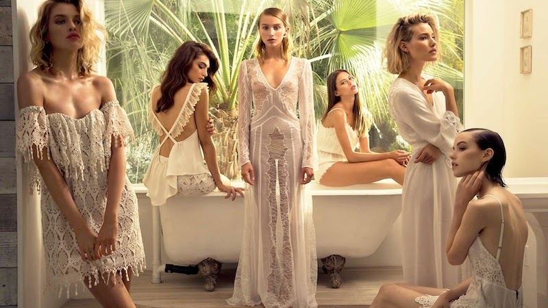 White lace, ZImmermann, Lover, Cold Stone Fox, For Love & Lemons, Alice McCall