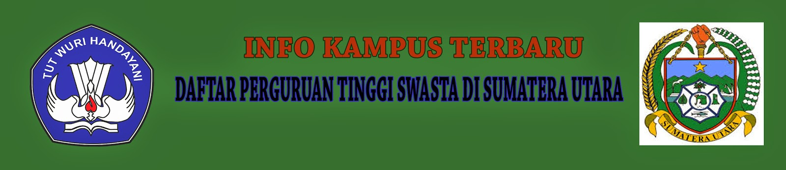 Daftar Perguruan Tinggi Swasta Di Sumatera Utara