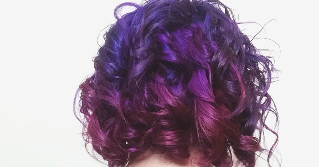 Five Sixteenths Blog Achieve Vibrant Purple Hair At Home