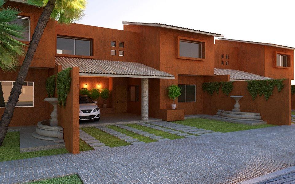 Casas y terrenos coatepec veracruz magnolias vi for Fachadas de casas estilo moderno