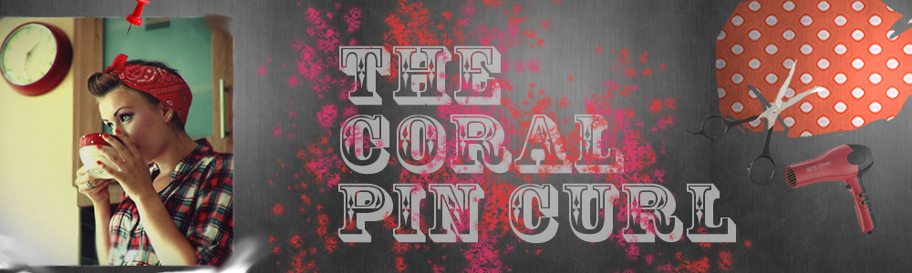 The Coral Pin Curl