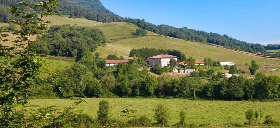 Oferta hotel rural Álava - entorno natural