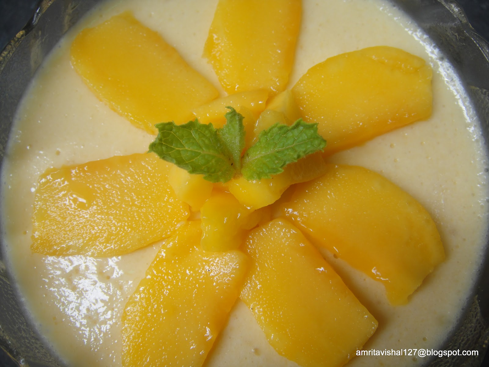 Mango Mousse Pie Recipe — Dishmaps