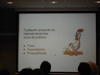 """Imagen """"Tipos de público en Internet"""" - Iker Merchán - Jornada """"Lo esencial del email marketing"""" - Parque Tecnológico de Miñano [Martes, 9 de Abril de 2013] - Imagen propia"""